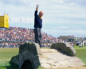 Arnold Palmer - St Andrews - The Final Farewell