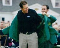 Phil Mickelson - Green Jacket Presentation