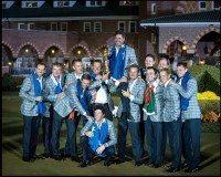 Ryder Cup - Europe Wins Team Celebration 2012