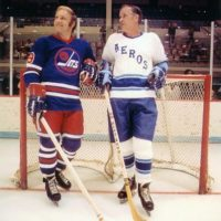 Bobby Hull & Gordie Howe WHA