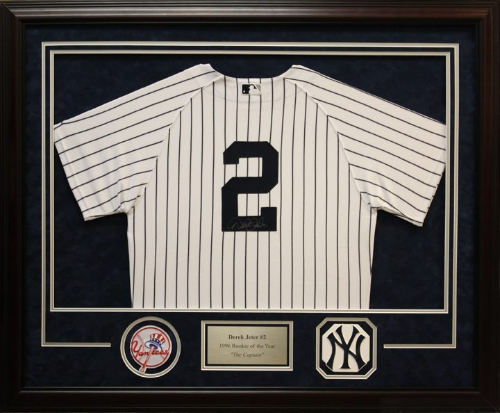 Jeter - Deluxe Jersey Framing