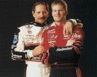 NAS002 Dale Earnhardt Sr & Jr - Father & Son