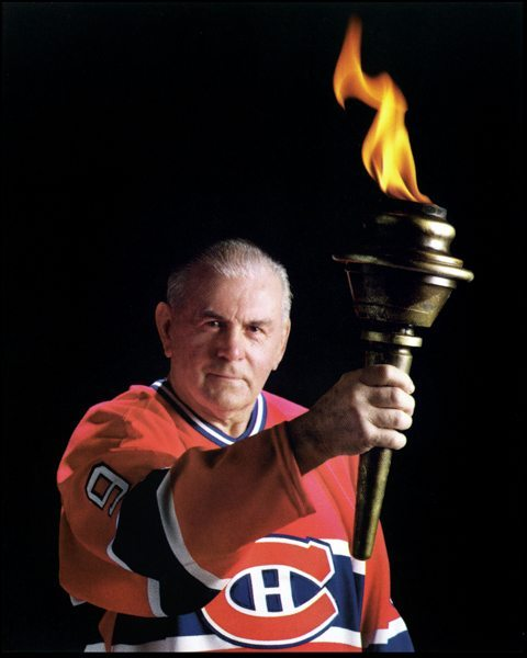Maurice Rocket Richard Raising The Torch Dgl Sports