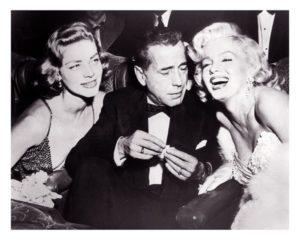 Bacall & Bogart & Marilyn
