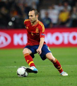Andres Iniesta #6 -Spain