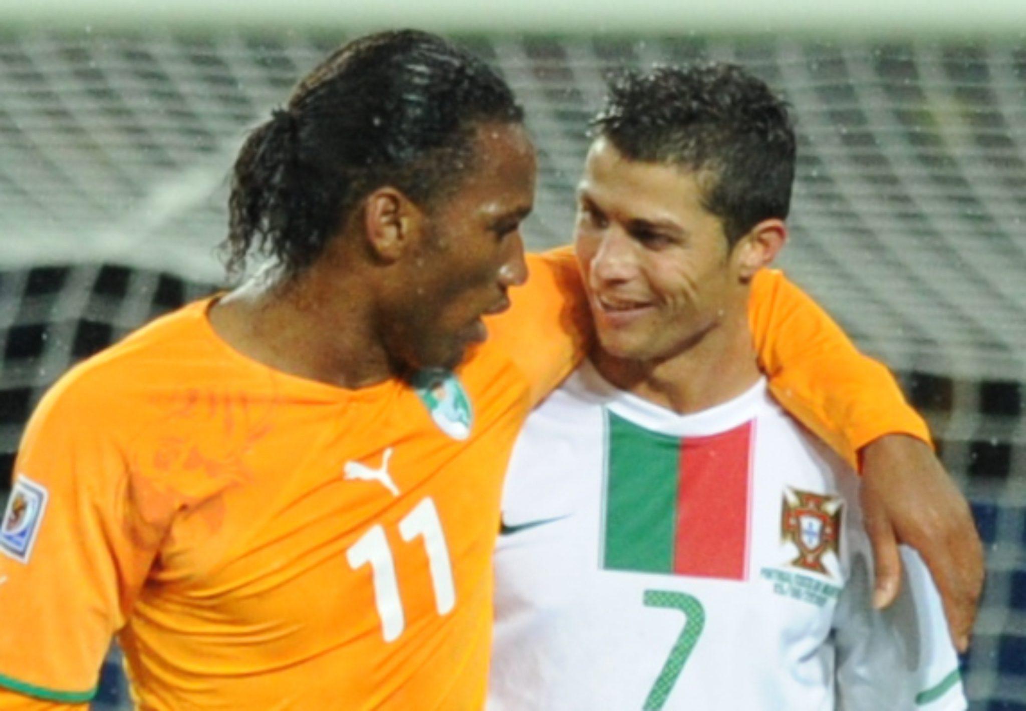 Didier Drogba Amp Ronaldo Dgl Sports Vancouver Sport And