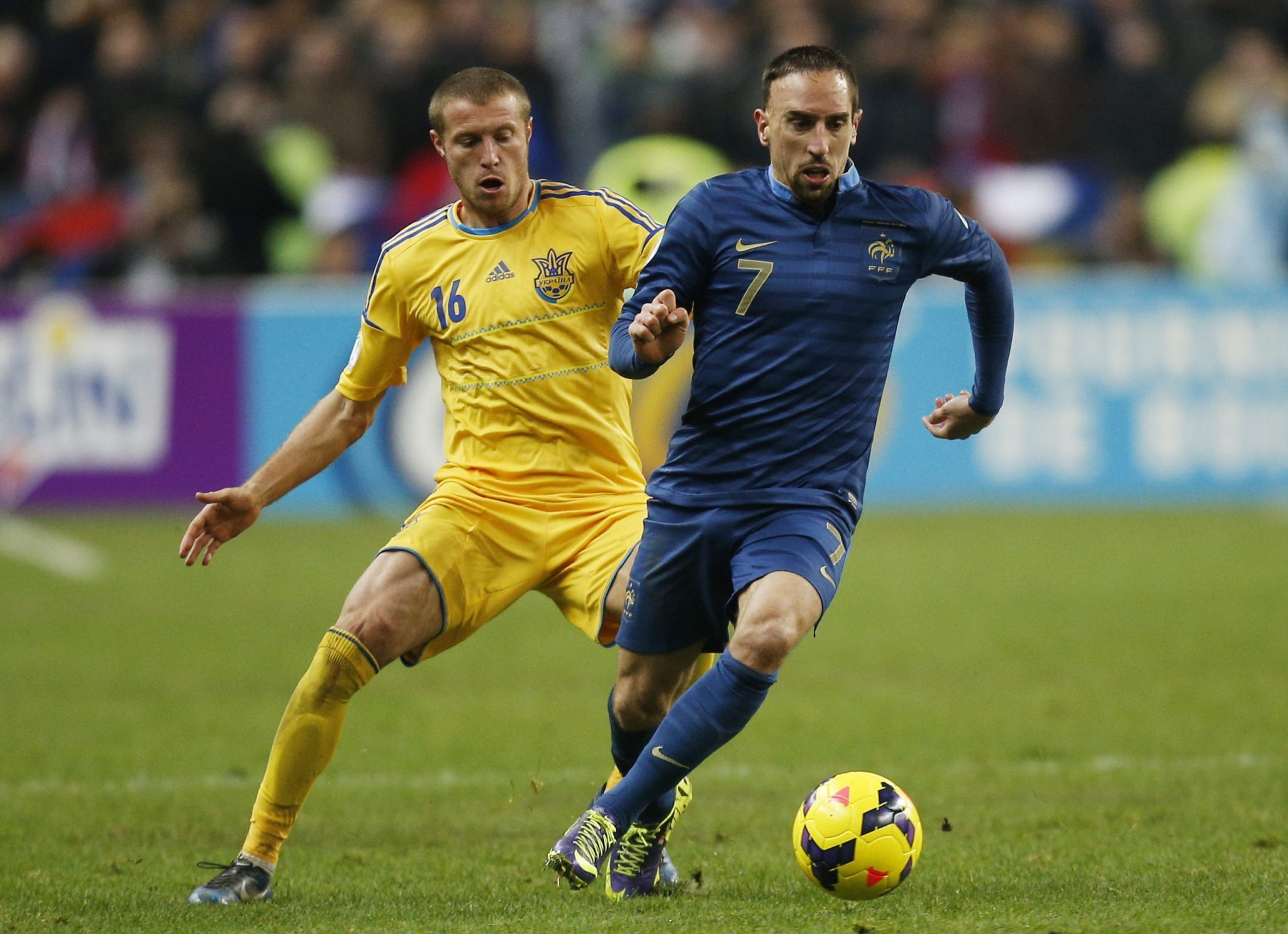 Franck Ribery France Dgl Sports Vancouver Sport And