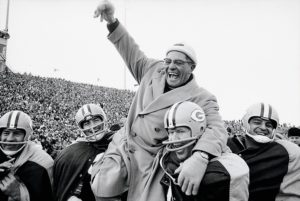Green Bay Packers Coach Vince Lombardi, 1961 NFL Championship