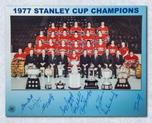 1976-77 Monteal Canadiens 11x14
