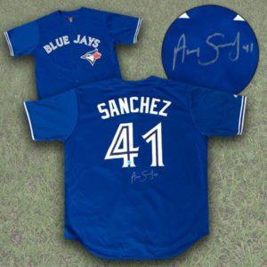 Aaron Sanchez signed jersey - 399.99