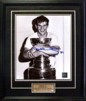 Bobby Orr - Cup Hug Signed