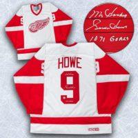 Gordie Howe CCM jersey