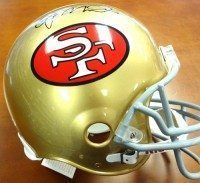 Joe Montana signed Proline Helmet