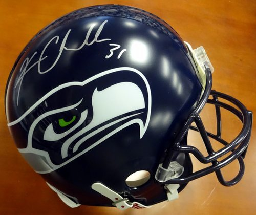 Kam Chancellor Autographed Seattle Seahawks Full Size