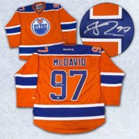 McDavid signed jersey 699