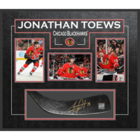 Toews signed stick