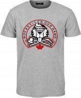 Angry Beaver grey t-shirt