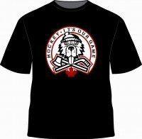 TShirt-black angry  beaver-w toque 2