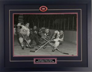 sa191 - Beliveau and RIchard battle Leafs 1