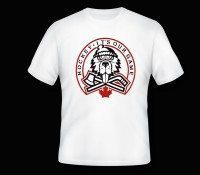 white t-shirt angry beaver copy