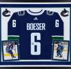 "Brock Boeser ""Signed"" Custom Framed Jersey"