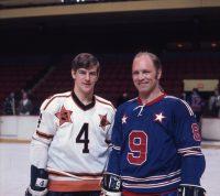 Bobby Orr and Bobby Orr - 1970 NHL Al-Stars