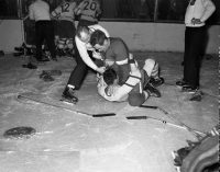 Brawl - Detroit vs Toronto (1950's)