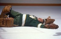 Gump Worsley - Knockout - 18x12