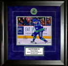 """Elias Pettersson – Canucks """"SIGNED"""" 8×10 custom framed – Rookie All-Star Centre"""