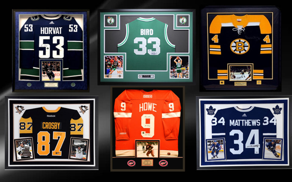 Custom Framing – Jerseys