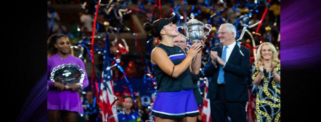 Bianca Wins US Open